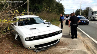 Man who fled traffic stop, hit passenger, crashed into police car arrested, Ocala PD says