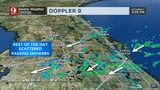 Video: Rains expected throughout weekend as front stalls over Central Florida