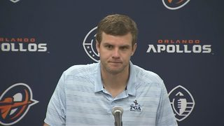 Apollos QB Garrett Gilbert after 40-6 win