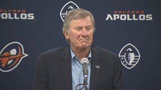 Steve Spurrier after Apollos opening win