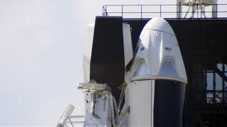 Video: SpaceX prepares for historic Crew Dragon launch