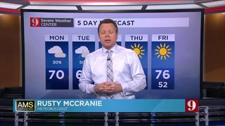 Cool weather across Central Florida