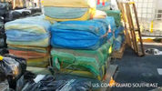 """The Coast Guard posted video on Facebook of the seizure, saying """"Here's what 27,000 lbs. of cocaine looks like."""""""