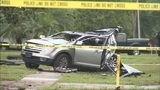 Video: 2 in critical condition after armed robbery suspect crashes near Casselberry Walmart
