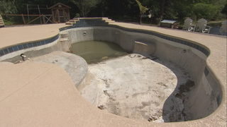 Action 9: Homeowners claim contractor left pool projects unfinished