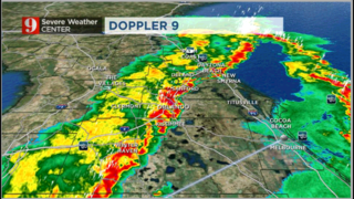 Video: Storms move through Central Florida