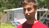 Video: Man arrested after lighting pipe bomb that flew into neighbor's yard, deputies say
