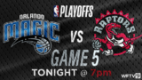 Live blog: Magic aim to avoid elimination in Game 5 against Raptors