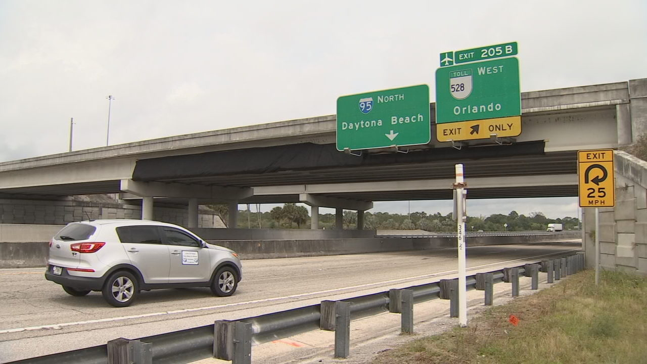 BREVARD COUNTY TRAFFIC: I-95 overpass closed for emergency repairs
