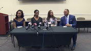Kenia Gilles and Jeny Desronvil held a news conference to help women who might find themselves in a similar situation, an Osborne & Francis Law Firm news release said.