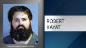 Robert Joseph Kayat, 29, was arrested after the video was posted and widely shared on social media, deputies said.