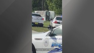 Police: Man on drugs carjacks postal service truck, crashes