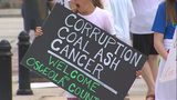 Video: Osceola County residents continue to protest controversial coal ash from Puerto Rico