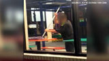 Watch: Florida Burger King employee uses mop to clean table (Via CNN)