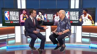 Pat Williams discusses Durant injury, NBA Finals