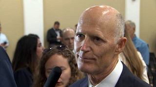 Scott says now is the time to start preparing for a hurricane
