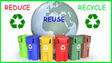 """""""Our recycling system would be greatly improved if the hardest-to-recycle plastics were banned, and if there were more comprehensive programs for electronics recycling and food waste composting."""" - Earth911.com"""