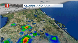 Afternoon showers here to stay; lightning may spark fires