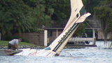 Video: 2 men dead after plane crashes into Lake Maitland, police say