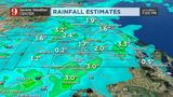 Saturday storms drop inches of rain across Central Florida