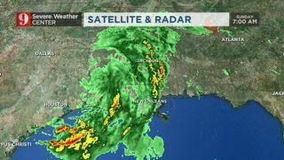 Rain Totals Adding Up In Louisiana