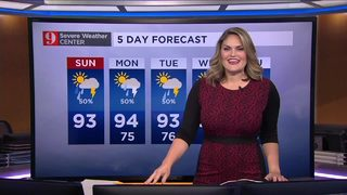Rain, storm chances increase as afternoon sea breezes collide