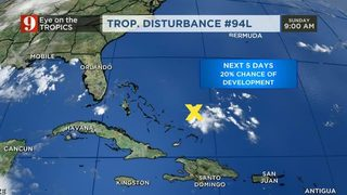 Watching Invest 94L