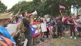 Video: Demonstrators protest Puerto Rico governor at Lake Eola