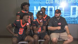 Video: Hundreds of high school football players join WFTV