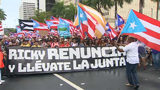 VIDEO: Embattled Puerto Rico governor resigns; protests turn into celebrations in San Juan