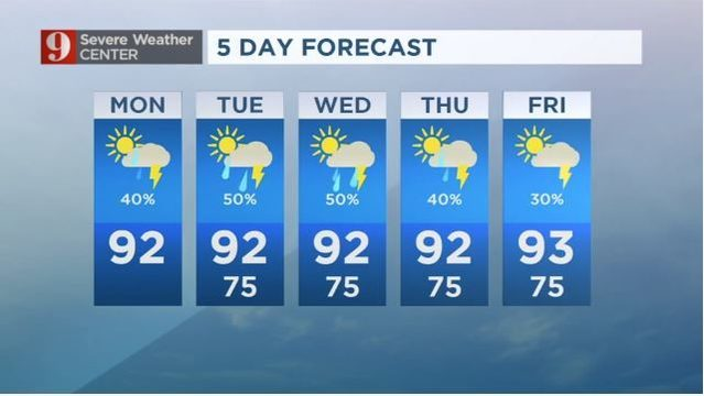 8 day forecast orlando florida