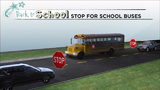 How to know if you have to stop for a school bus while driving