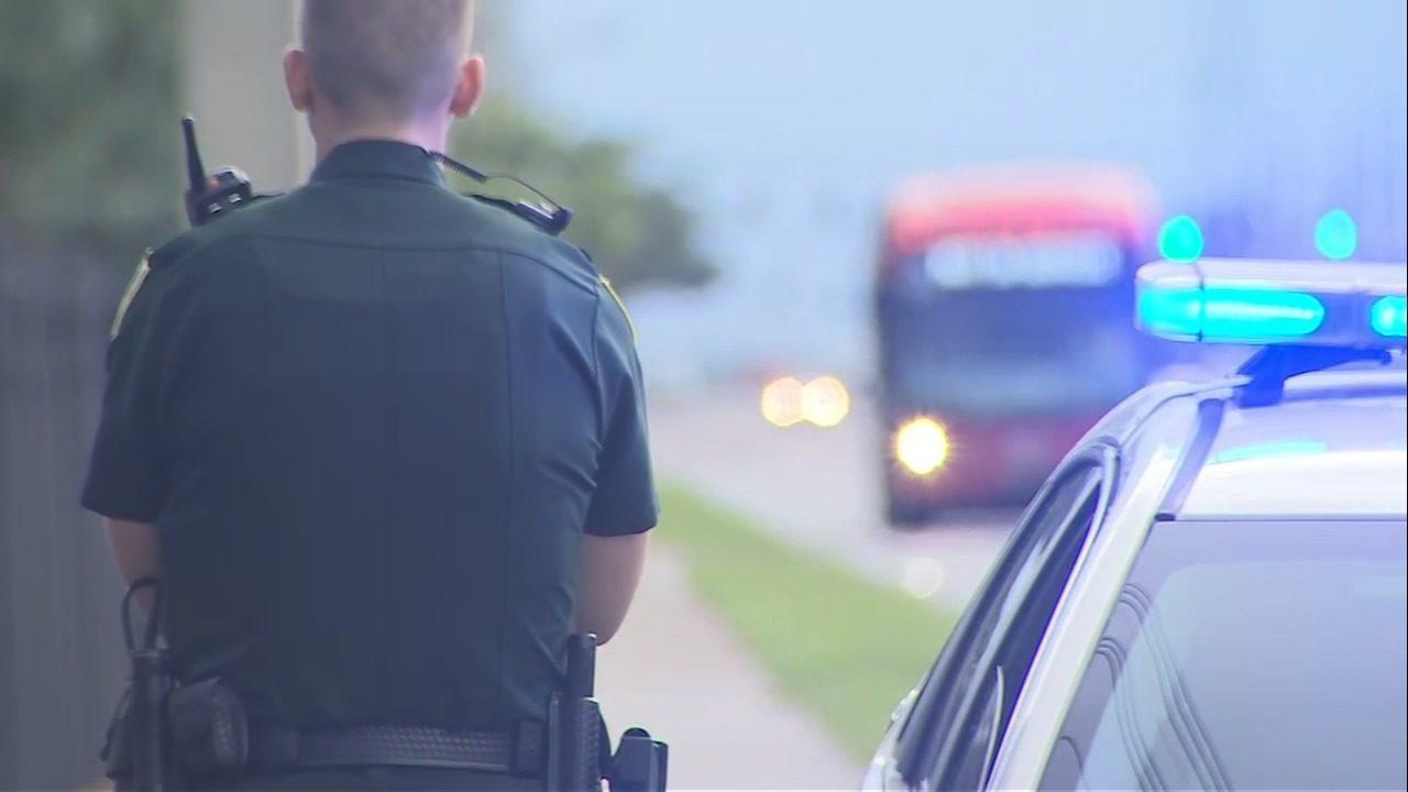 Deputies search for gunman after man shot at Orange County