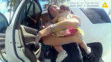 Watch: Baby rescued from locked SUV in South Florida