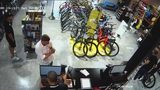 VIDEO: Suspected thief hitting bike stores for high end bikes
