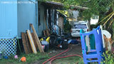 VIDEO: 7 children, 3 adults hospitalized after Seminole County mobile home catches fire