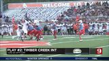 Play of the Week: Timber Creek interception