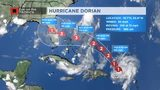 11pm Dorian Update: Strengthening as it enters warmer waters