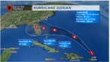 Dorian continues to intensify