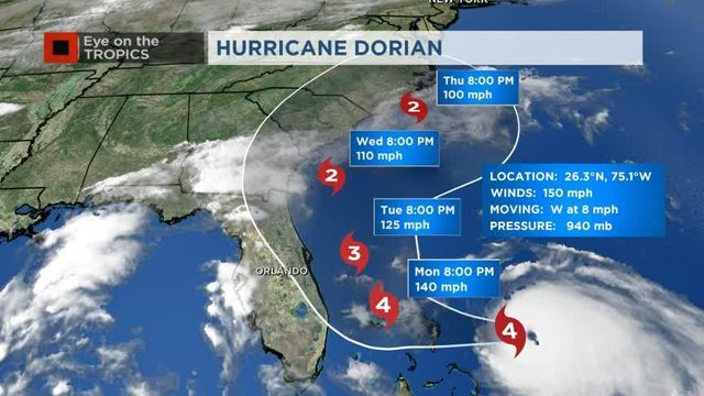 LIVE UPDATES: OIA to remain open as Dorian continues its