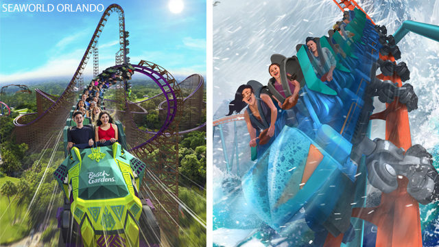 First look: New roller coasters coming to SeaWorld Orlando, Busch Gardens Tampa Bay