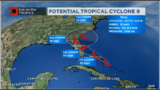 Potential Tropical Cyclone #9 is Organizing