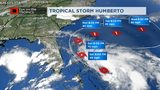 VIDEO: Tropical Storm Humberto has formed in the Bahamas, stay well offshore.