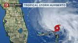 Eye on the Tropics:Tropical Storm Humberto forecast to strengthen into hurricane