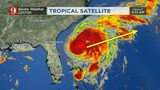 Breezy weather, low chance of showers as Hurricane Humberto pulls away from Florida