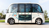 VIDEO: Driverless shuttles hit the road in 'future-ready' Orlando