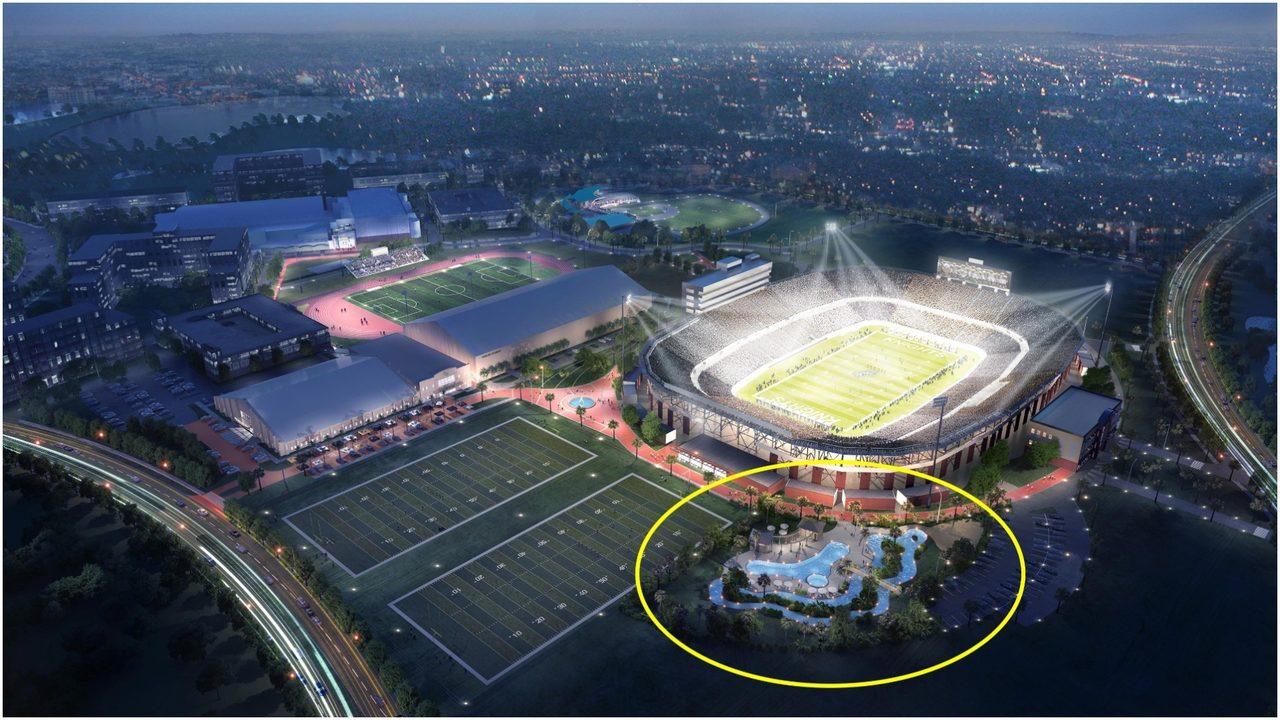 UCF Athletics announce McNamara Cove, coming in 2020