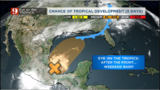 Gulf of Mexico system could develop and bring a rainy weekend. We are monitoring it closely.