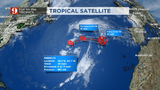 Subtropical Storm Rebekah forms in the north Atlantic