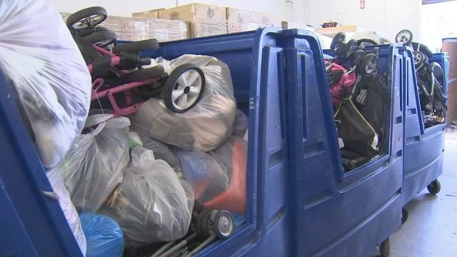 SeaWorld Orlando sends dozens of lost-and-found items to local Goodwill locations